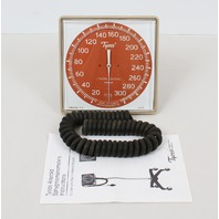 Tycos Welch Allyn 5091-23 Sphygmomanometer Gauge an 8' Coil Tubing Only