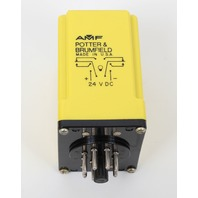 -NEW-  Potter and Brumfield CGD-38-30001S Time Delay Relay 0.1-1 Sec 10 Amp 120 VAC New