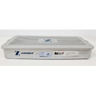 Zimmer Sterilization Instrument Case for Autoclave 22x10x3in 5967-01-30 5967-01