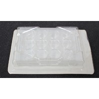 New! Lot of 21 Falcon 12 Well Tissue Culture Plate with Lid 3043