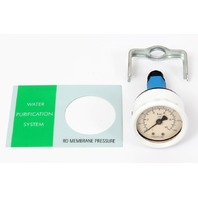 Millipore RO Membrane Pressure Gauge + Faceplate for Milli-RO 6 Plus Purifier