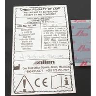 "Allen Medical Astrus Elite Contoured 3"" Armboard Pad H-303-03-960"