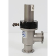 "Nor-Cal ESVP-1502-NWB 1-1/2"" Pneumatic Right Angle HV Valve w/ NW-40 Flanges"