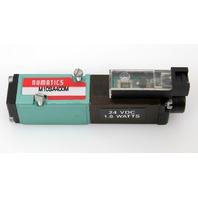 Numatics M10SA400M Solenoid Pneumatic Valve, 150 PSI | 24VDC | 1.8 Watts