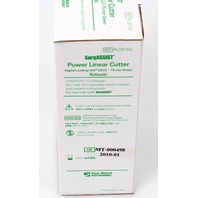 Power Med SurgASSIST PLCR75G Power Linear Cutter Digital Loading Unit 75mm Green