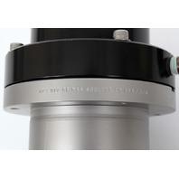 MKS/HPS High Vacuum Research KF40 Inline Pneumatic 180° Angle Valve, 162-0040K