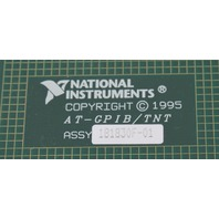 National Instruments AT-GPIB/TNT IEEE-488.2 Interface Card 181830F-01