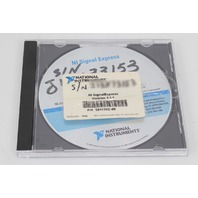National Instruments SignalExpress Software v1.1.1 501280C-01 with Serial Number
