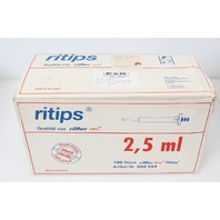 New Lot of 91 2.5ml Ritter Eppendorf Combitip Pipette Tip 850254