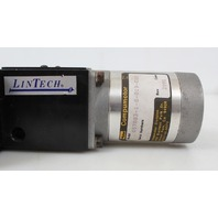 "LinTech 90 Series Twin Rail Linear Stage 6x8"" 90606 w/ Compumotor 57-83 Stepper"
