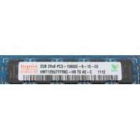 Lot of 2 HP 500209-161 2GB PC3-10600E MEMORY MODULE 500209-161 595101-001