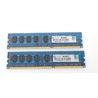 Lot of 2 HP 500209-161 2GB PC3-10600E MEMORY MODULE 500209-161 595101-001