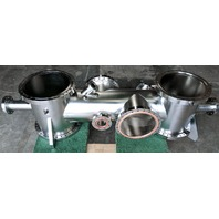 MDC Varian Stainless Steel High Vacuum Cross/Chamber CF250 Port Manifold