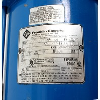 """Grovhac G-11 1/4hp Explosion Proof Drum Pump with TTS 40"""" SS Tube"""