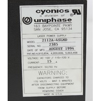 JDS Uniphase  2112A-4SLMD Laser Power Supply
