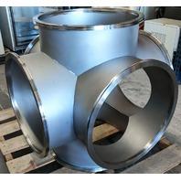 MDC Varian SS304 Stainless Steel High Vacuum 6-Way Cross ISO500-K