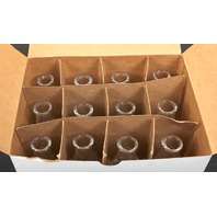 Lot of 12 Corning PYREX 50mL Narrow Mouth Erlenmeyer Flask  4980-50