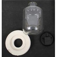 Savant GFC400 Glass Flask, FC400 Flask Cover, Foam Cover, 4 Liter