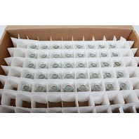 Lot of 40 Wheaton 223743 Clear Glass Serum Bottles  20mm Crimp Top Finish, 30mL