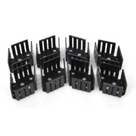 Lot of 8 Thermalloy Aavid Heat Sink for TO-3 Components THM6014