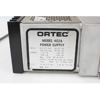 EG&G Ortec 12 Slot Model 402A NIM BIN Power Supply w/ 401A BIN
