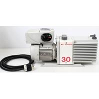 Edwards 30 E2M30 Rotary Vane Vacuum Pump + Leroy Somer Varmeca-20 Variable Motor
