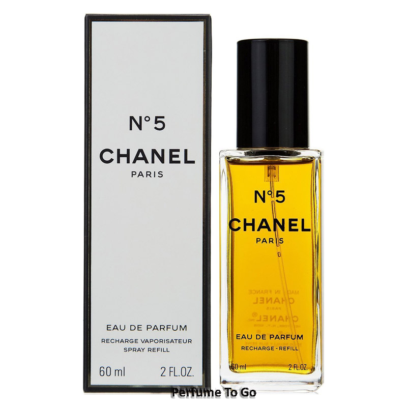 chanel no 5 women 2 0 oz 60 ml edp eau de parfum refill spray new sealed auctions buy. Black Bedroom Furniture Sets. Home Design Ideas