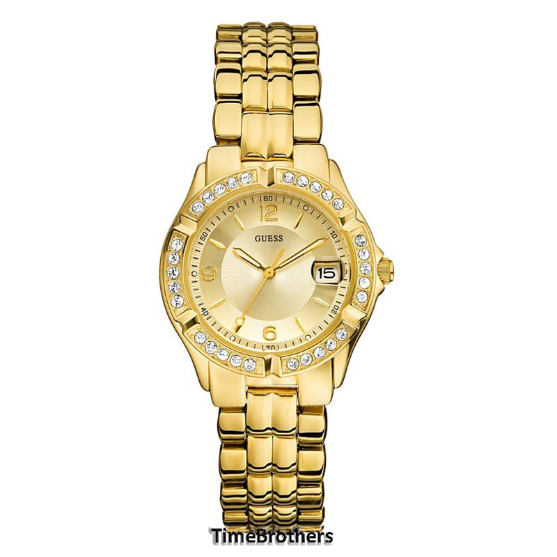 new guess for all gold tone date window