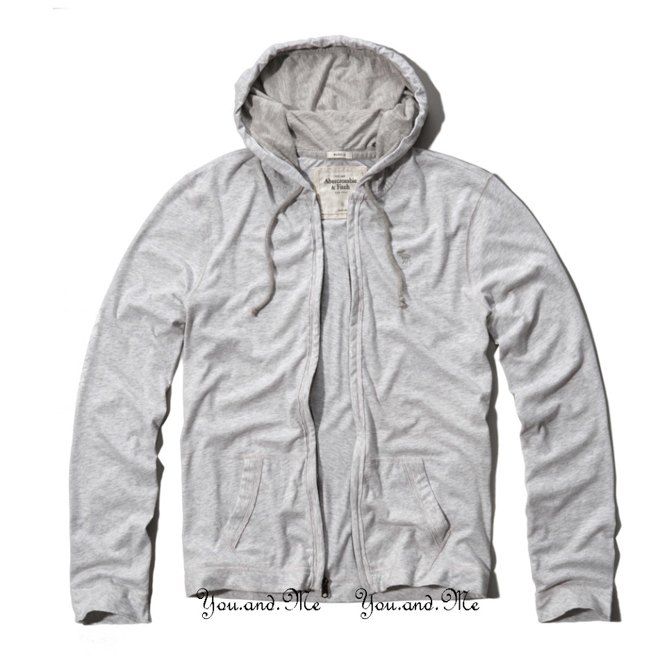 Abercrombie And Fitch Clothing Abercrombie And Fitch Hoodies Abercrombie And Fitch Jackets Abercrombie And Fitch Sweater: NEW ABERCROMBIE & FITCH MEN * A&F Light Weight Zip Hoodie