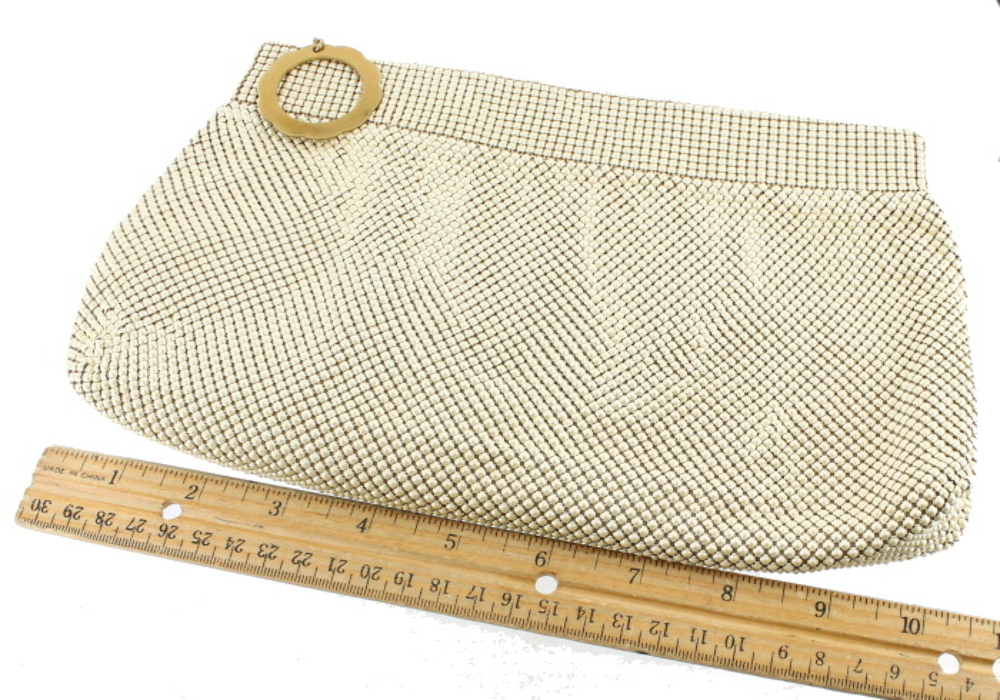 whiting davis mesh purse dating