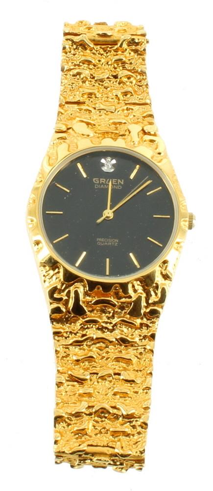 Gruen Precision Diamond Quartz Watch