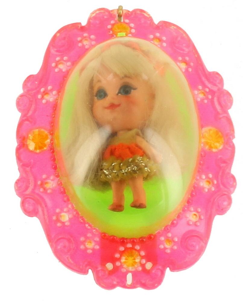 Old Mattel Toys : Vintage liddle kiddle mattel toy miniature doll lucky
