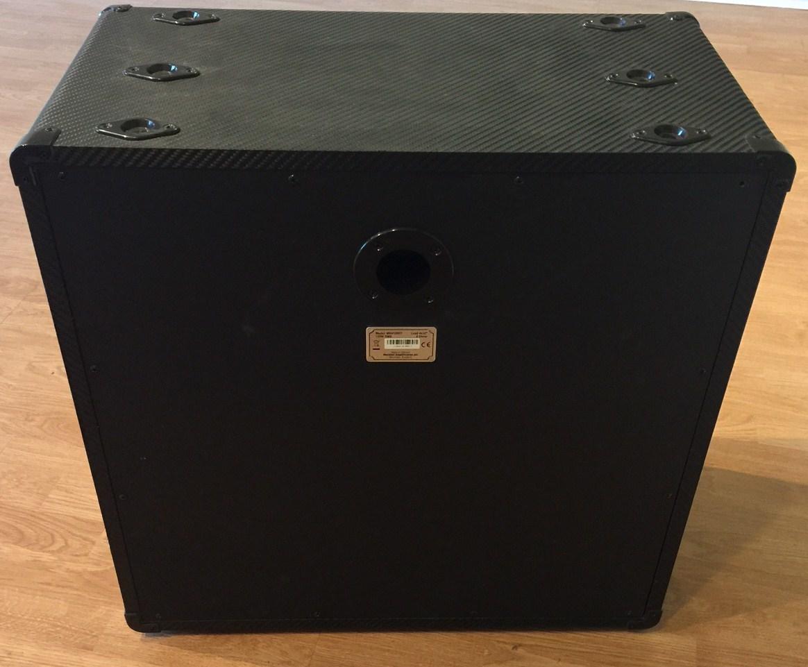 ... Marshall MG 412 BCF 4x12 Extension Speaker Cabinet Straight Carbon  Fiber w Cord ... - Marshall MG 412 BCF 4x12 Extension Speaker Cabinet Straight Carbon