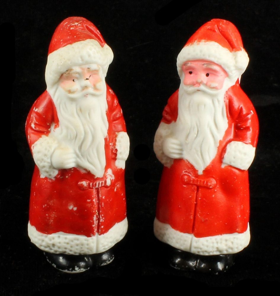 Antique japanese porcelain santa figural christmas
