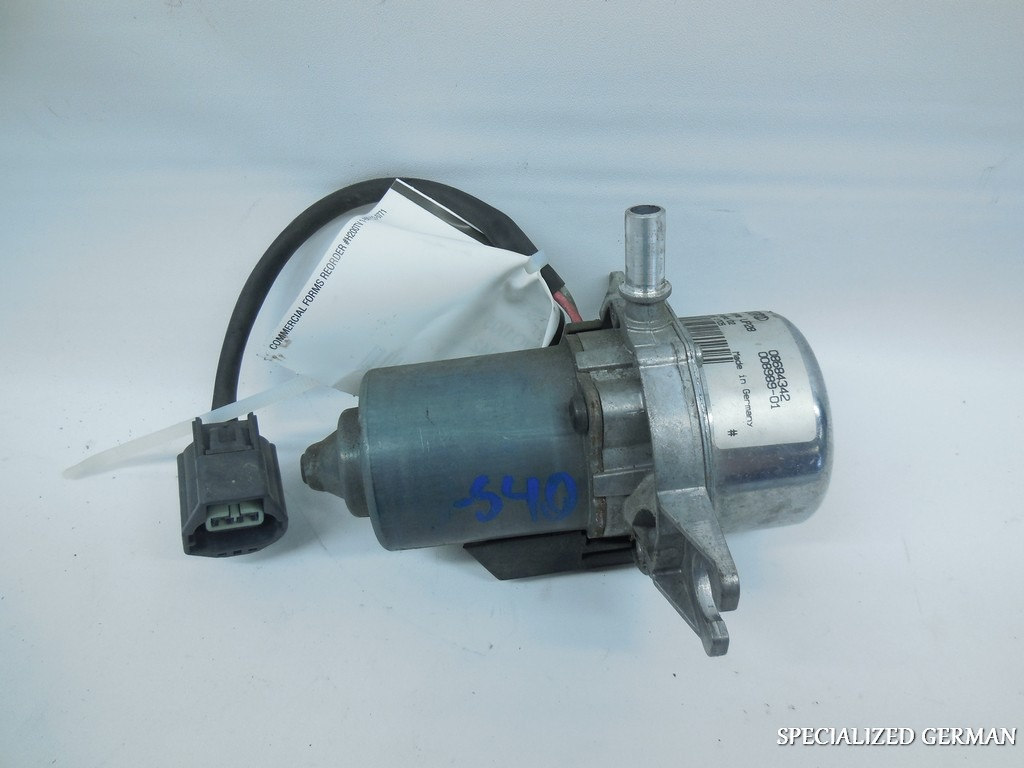 Brake Vacuum Pump : Volvo s abs brake servo vacuum pump
