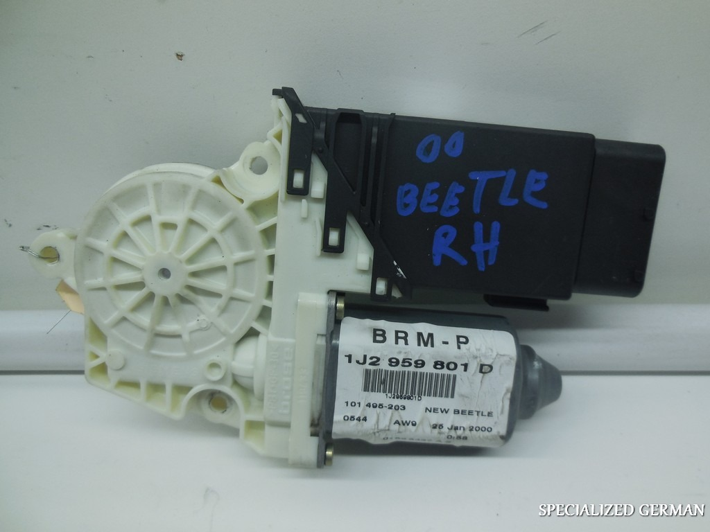 1998 1999 2000 2001 volkswagen beetle right power window