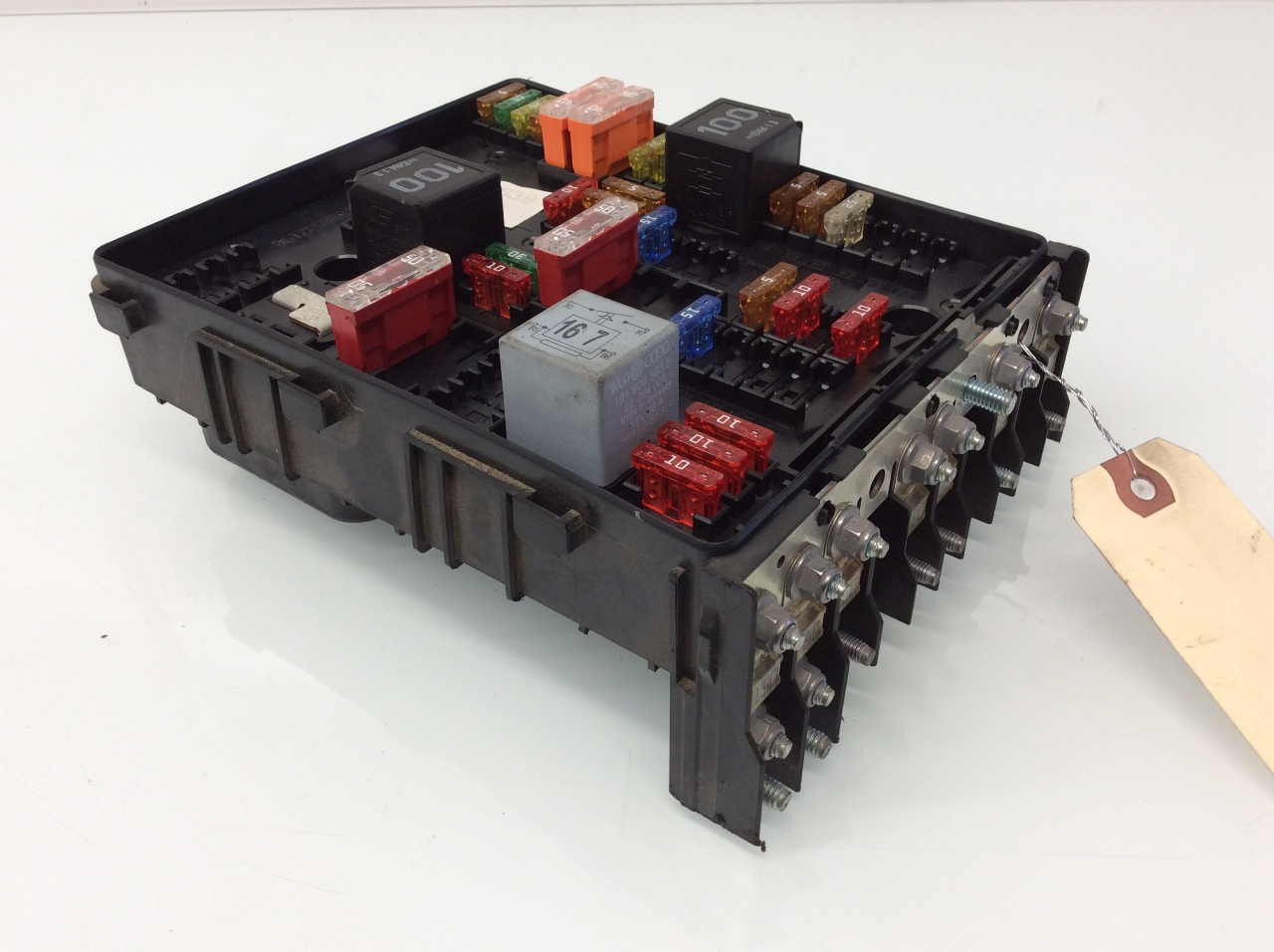 engine fuse box 2007 2008 volkswagen eos engine fuse box relay 1k0937124k ... 2001 nissan maxima engine fuse box diagram