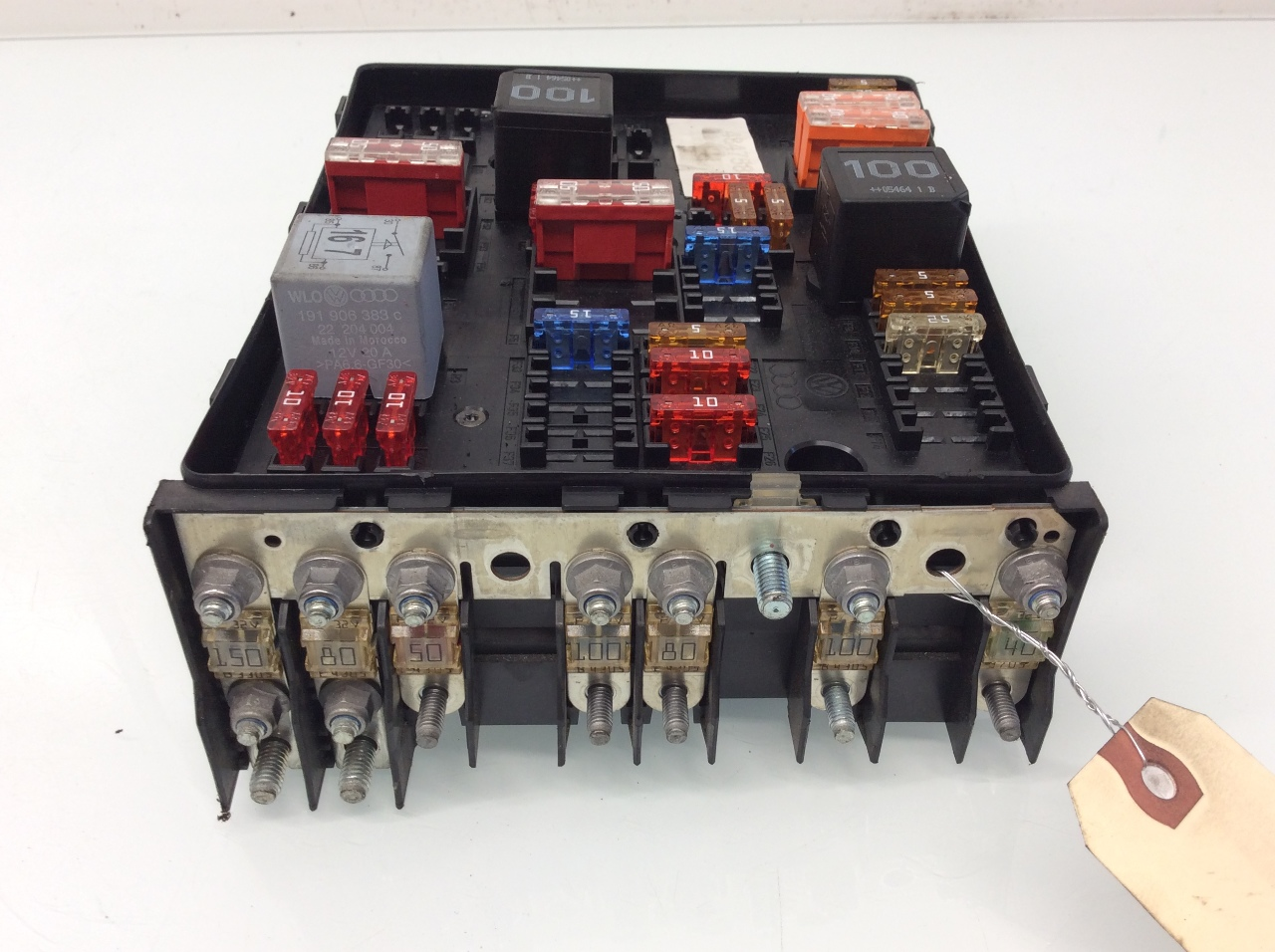 Volkswagen eos engine fuse box relay k