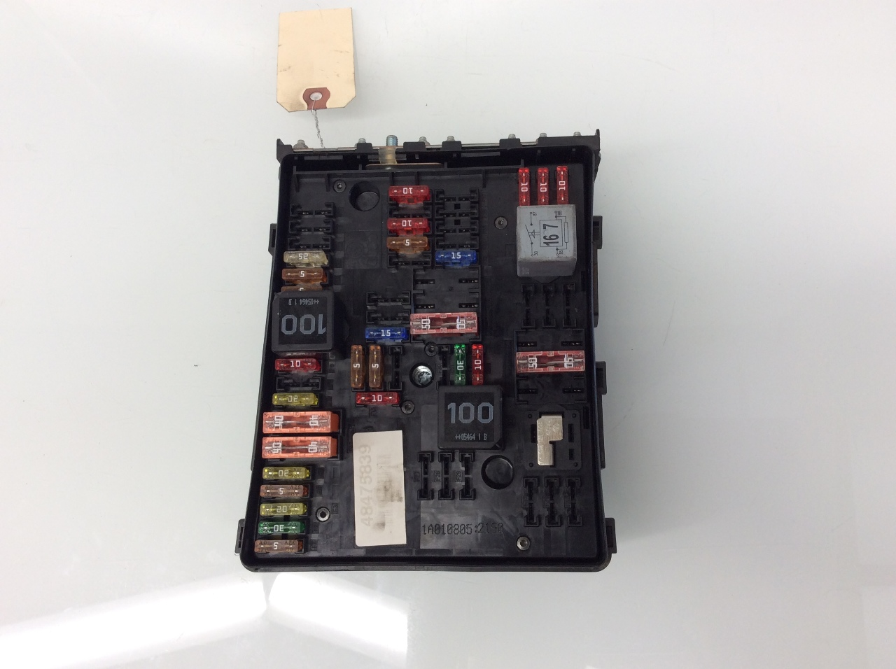 2010 jetta engine fuse box 2007 2008 volkswagen eos engine fuse box relay 1k0937124k ...