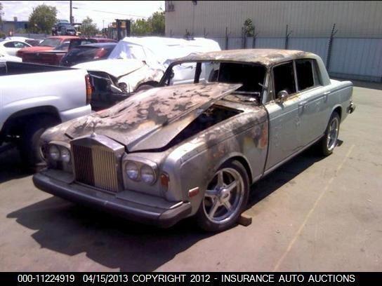 73 Rolls Royce Silver Shadow Right Headlight Bezel Needs