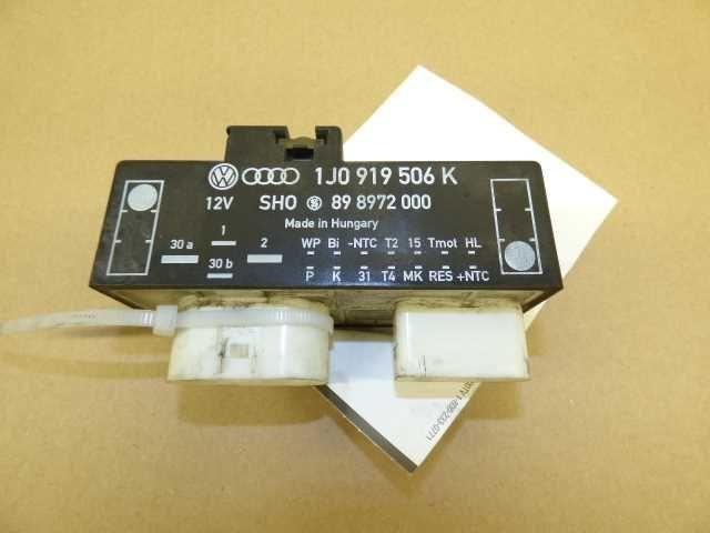 Volkswagen Audi Radiator Cooling Fan Control Module Relay 1J0919506K