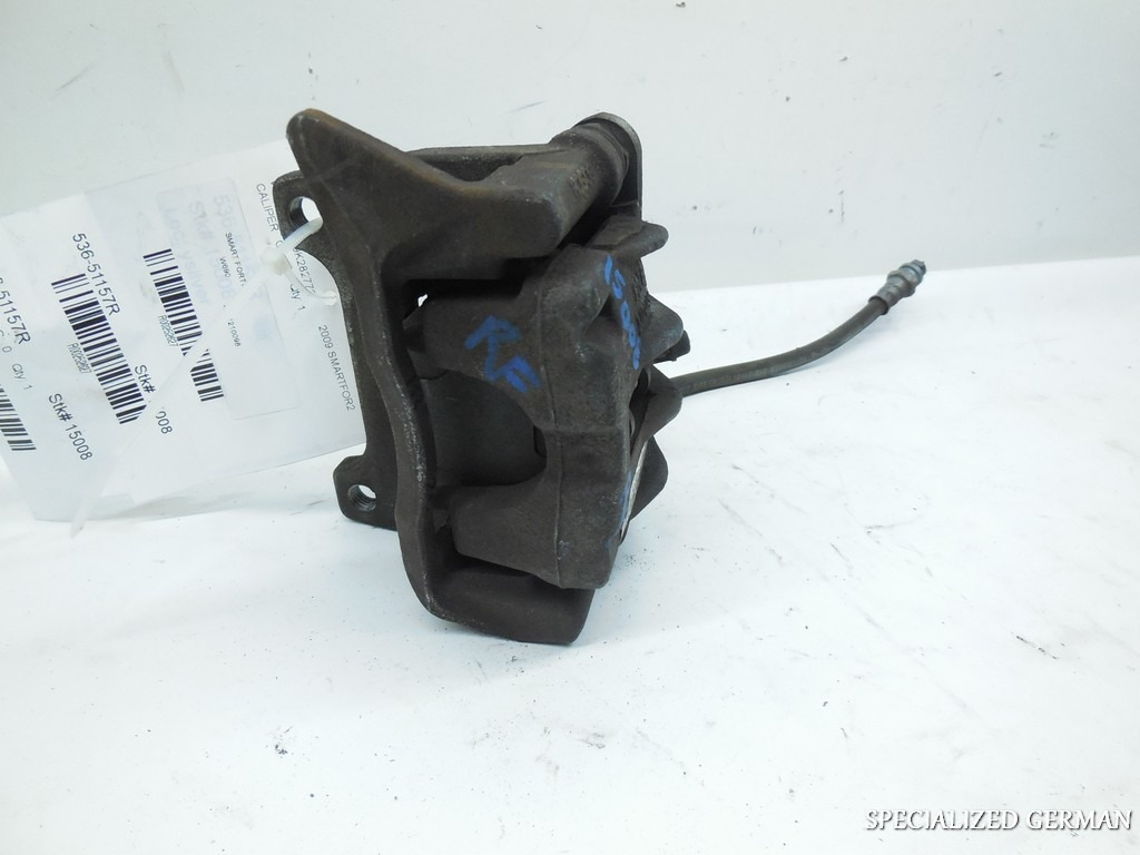 2008 2009 2010 2011 2012 2013 2014 2015 Smart Fortwo Right Front Brake Caliper