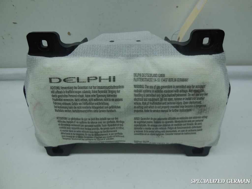 2008 2009 2010 2011 2012-2015 Smart Fortwo Right Airbag Dash Air Bag