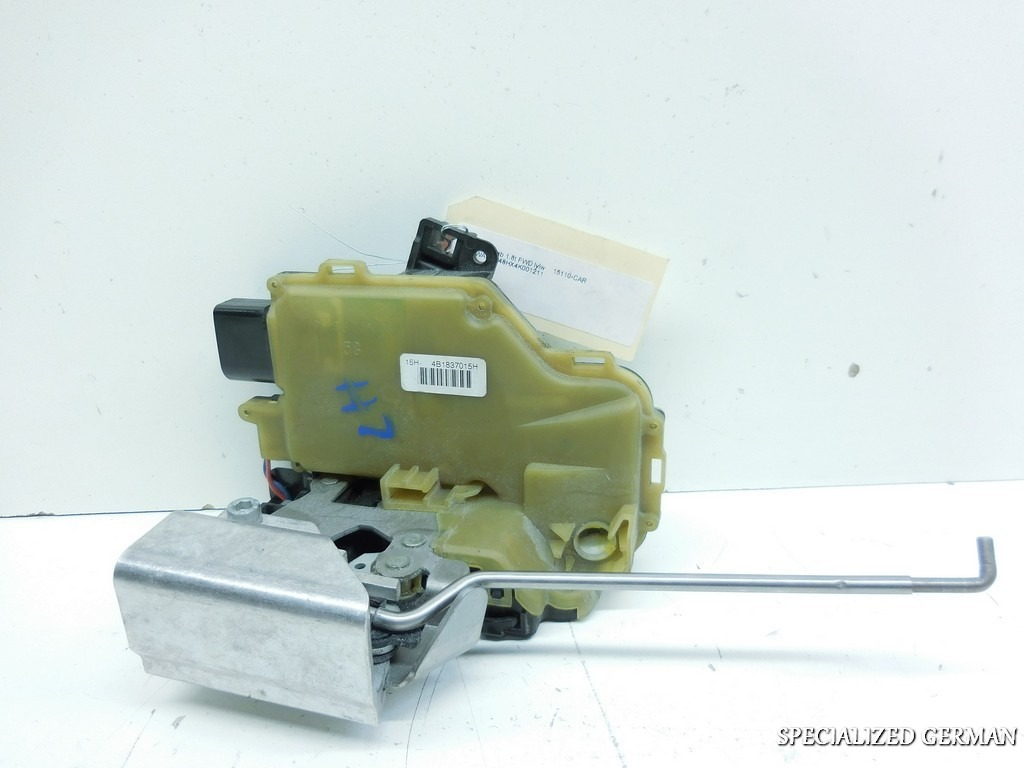 2003 2004 2005 2006 Audi A4 Cabriolet Left Front Door Latch Lock 4B1837015H