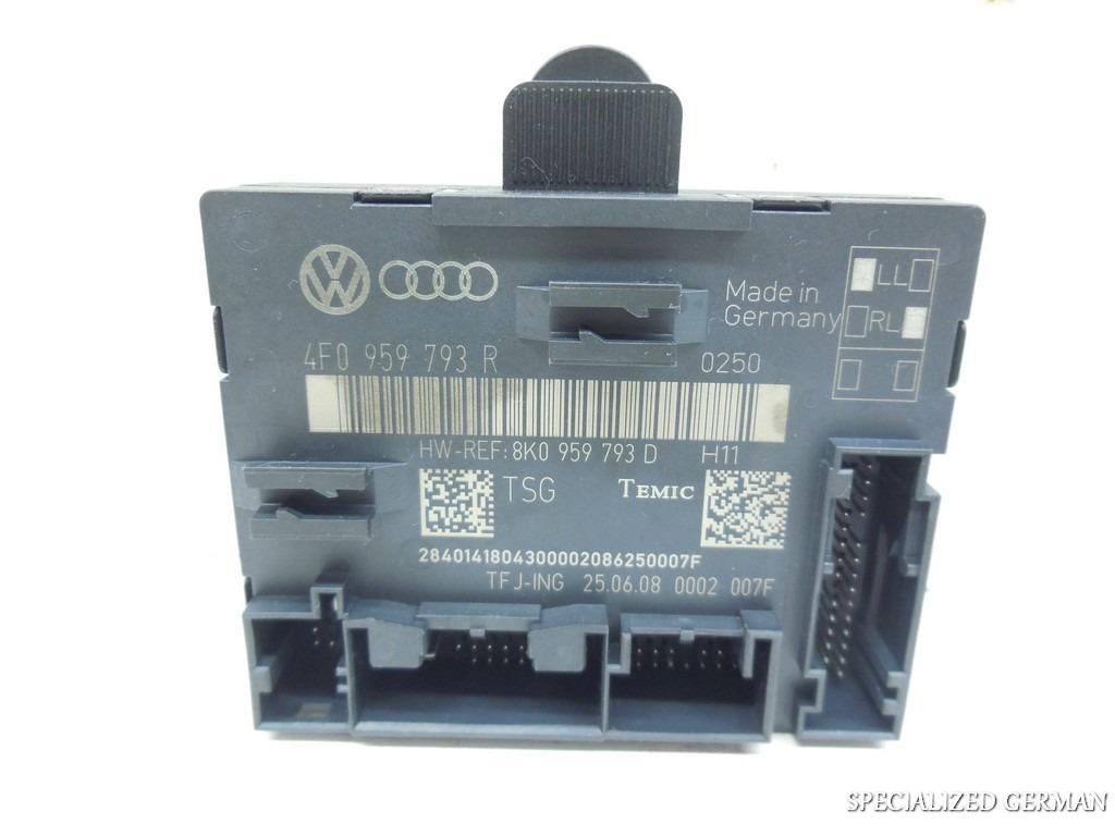 Audi q7 door control module computer front 4f0959793r ebay for 01333 door control module