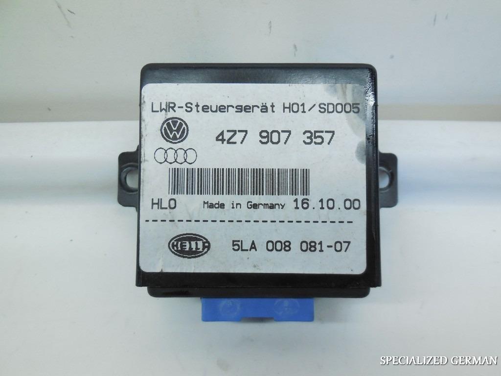 Audi Headlight Range Control Module 4Z7907357