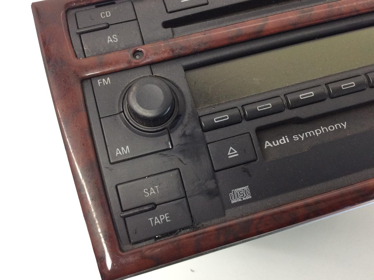 2004 2005 2006 2007 2008 audi a4 am fm cd cassette radio. Black Bedroom Furniture Sets. Home Design Ideas