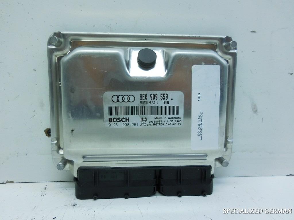 2004 Audi A4 3.0L Engine Control Module Computer ECM ECU 8E0909559L