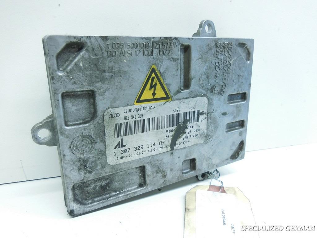 Audi A4 S4 TT Xenon Headlight Ballast Ignitor Hid Controller 8E0941329A