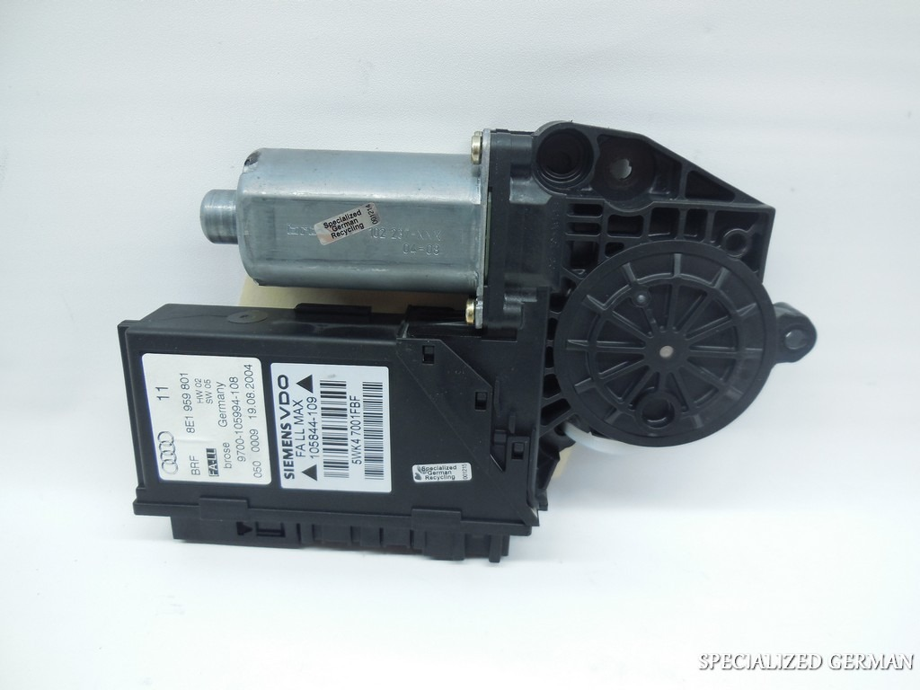 02 03 04 05 audi a4 s4 power window motor left front